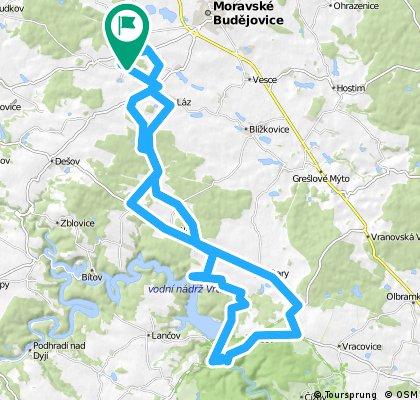 2. Jorgenův bikeweek trasa II.