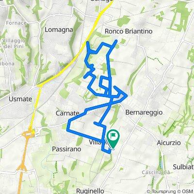 Da Via Lanfranconi 5/A, Villanova a Via Lanfranconi 5/A, Bernareggio