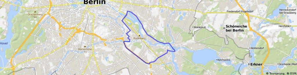 Teltowkanal-Treptow-Köpenick Rundfahrt