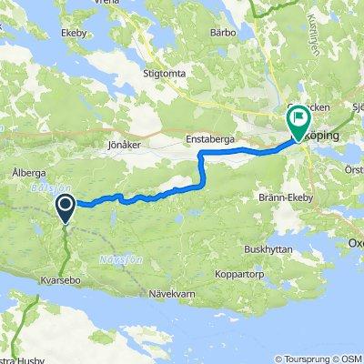 Kila Nysätter 1–2, Ålberga nach Norrköpingsvägen, Nyköping