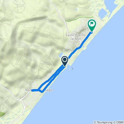 De 22–28 Promenade du Port, Narbonne à 122 Résidence Les Tenilles 2, Fleury d'Aude