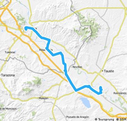 Ruta EBRO 2011 - ETAPA 11 - MIERCOLES 20 DE JULIO - TUDELA - CABANILLAS 9 -  FUSTIÑANA 12 - RIBAFOLADA 16 - BUÑUEL 22 - CORTES 29 - MALLEN 33 - GAILLUR 45 - PRA