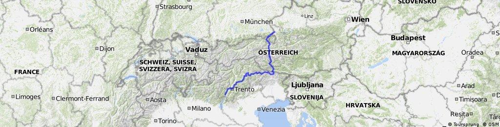 Alpencross mit Großglockner