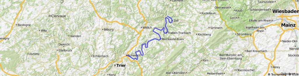 Kyll/Moselradweg 2: Schweich bis Bullay