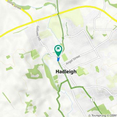 2 High St Mews, Ipswich to 128 High St, Ipswich