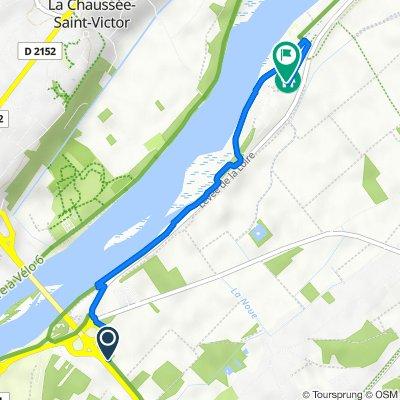 D174, Vineuil to 9 Le Lac de Loire, Vineuil