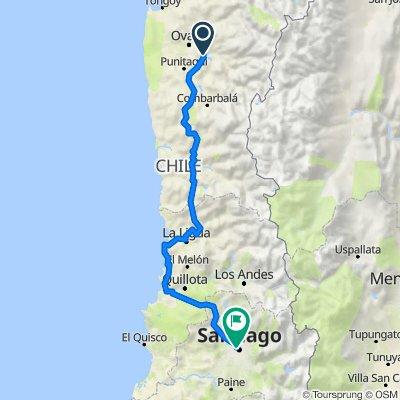 De D-591, Monte Patria a Virginia Opazo 23, Santiago