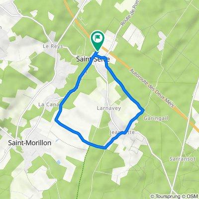 De 13B Impasse du Pré à Barrière, Saint-Selve à 11bis Impasse du Pré à Barrière, Saint-Selve