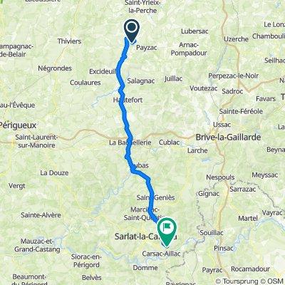 De Rouffiac, Angoisse à Route du Lac, Calviac-en-Périgord
