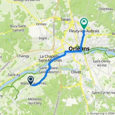 De 1 Rue de la Perrière, Cléry-Saint-André à 8–8Bis Rue Pablo Picasso, Fleury-les-Aubrais