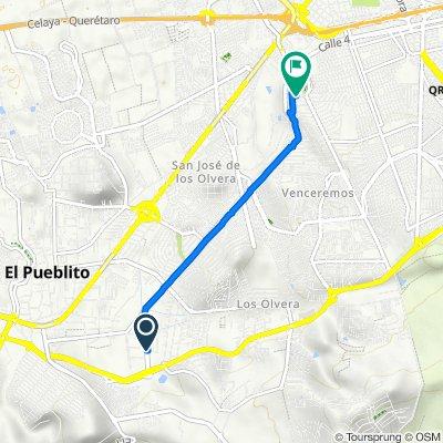Ruta a Luis Cabrera 131, Santiago de Querétaro