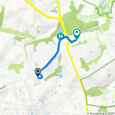 Route from 12 Colbet Close, Victoria Point