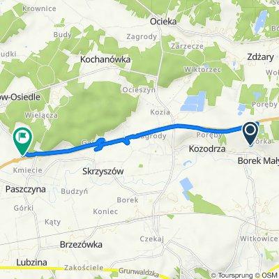 Kozodrza 468, Ostrów do A4, Brzeźnica