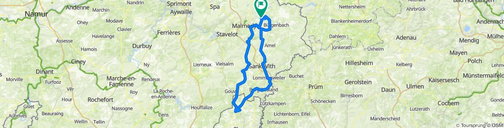 Vennbahn dag 2 - 119 km
