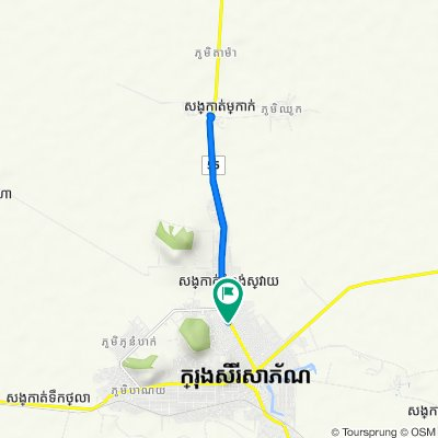 56, Banteay Meanchey to 56, Banteay Meanchey
