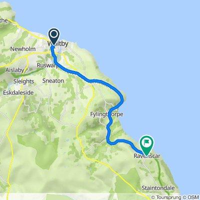 Route to Pollard Road, Ravenscar, Scarborough