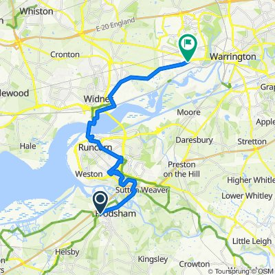 1 High St, Frodsham to 144 Liverpool Road, Warrington