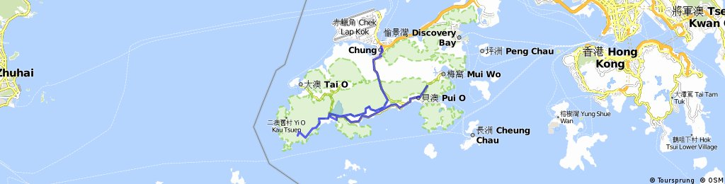 20110425 Nam Shan to Tung Chung