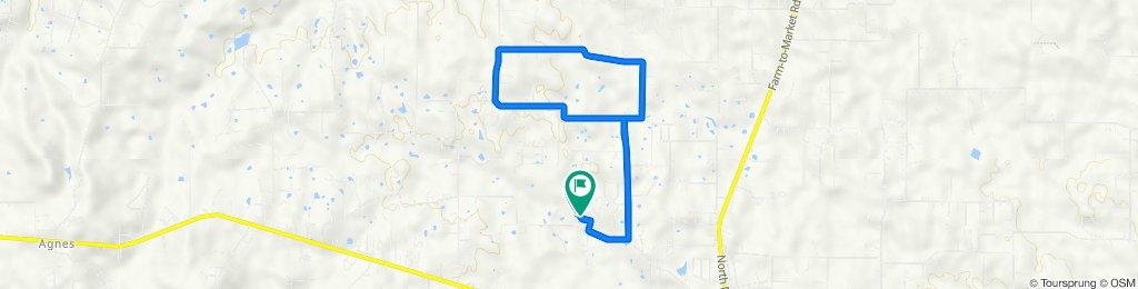 490 Green Meadows Cir, Springtown to 405–409 Green Meadows Cir, Springtown