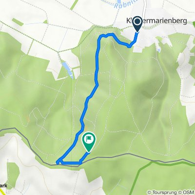 Berggasse 4, Klostermarienberg nach Unnamed Road