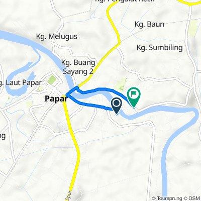 Jalan Surati, Papar to Jalan Sapat Mogon, Papar