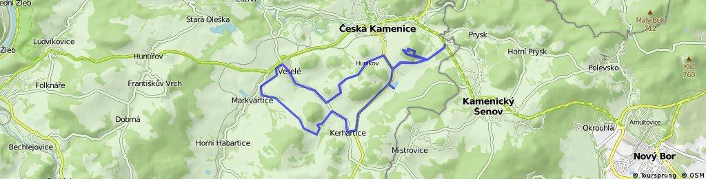 Markvartice - Hana - Zámecký vrch