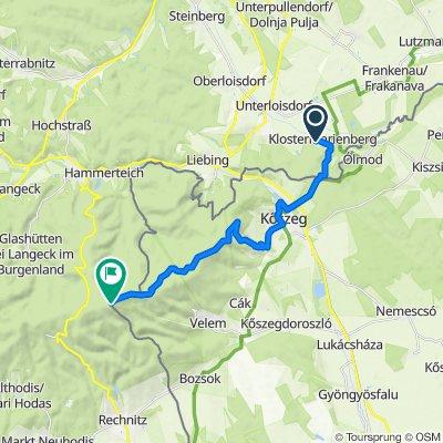 Berggasse 4, Klostermarienberg nach OKT. PECSÉT Írott-kő, Bozsok