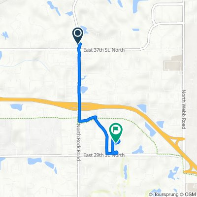 North Rock Road 3820, Wichita to East 29th Street North 8510, Wichita