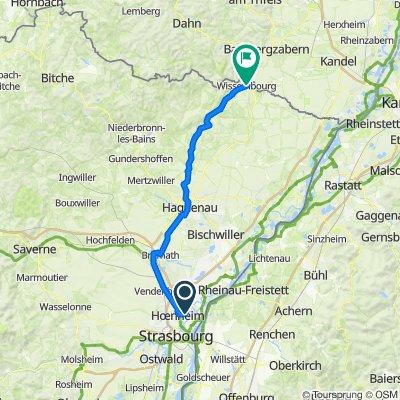 Tag 6 Strassburg - Wissemburg