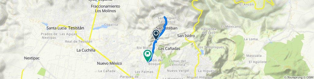 De Antiguo Camino a San Sebastian a Avenida Flamenco 1820, Zapopan