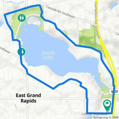 3345 Lake Dr SE, Grand Rapids to 3345 Lake Dr SE, Grand Rapids