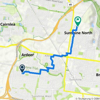 Mark Street 4, Sunshine West to Harvester Avenue 26, Sunshine North