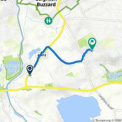 Grovebury Road Retail Park to Deverell Way 4