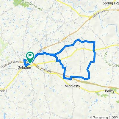 32 miles East Loop (8-5-21)