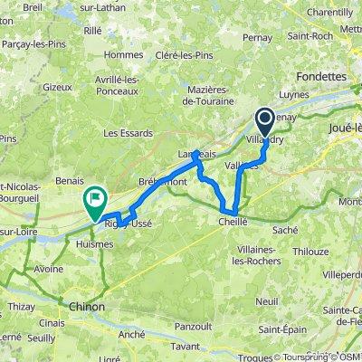 Loire GPS-Track