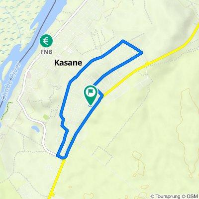 Phuti Crescent 1255, Kasane to Phuti Crescent 1255, Kasane