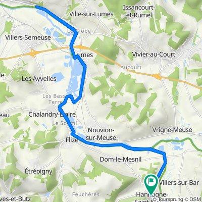 De 2bis Rue de la Cour, Hannogne-Saint-Martin à 2bis Rue de la Cour, Hannogne-Saint-Martin