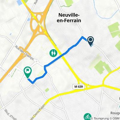 Itinéraire à partir de 5 Sentier Ottevaere, Neuville-en-Ferrain