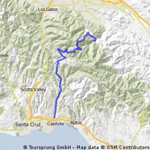 Soquel to Almaden Reservoir CLONED FROM ROUTE 617976