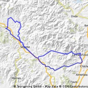 LA Vall- Caudiel- La Vall