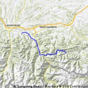 6.Etappe - Pyrenäenrundreise 20086
