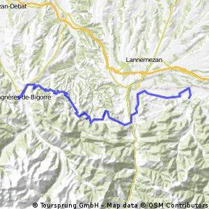 7.Etappe - Pyrenäenrundreise 2008
