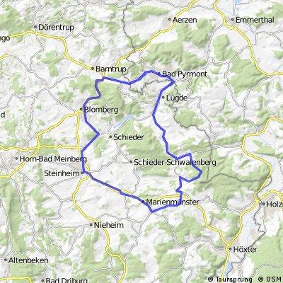Zwei-Berge-Rennrad-Tour