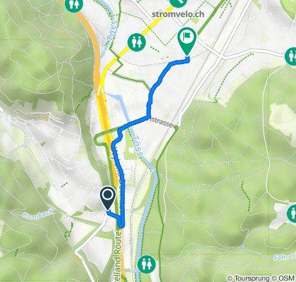 Steigstrasse 14–16, Winterthur nach Dammstrasse 2–8, Winterthur
