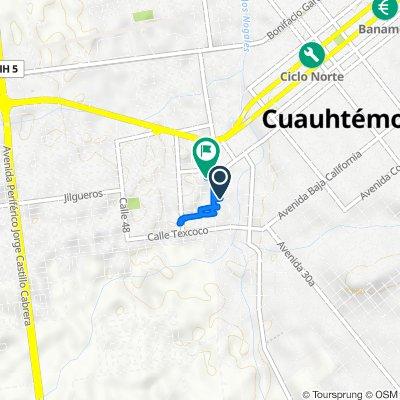 De Moctezuma 3268, Ciudad Cuauhtémoc a Río Tepeyac 3250, Ciudad Cuauhtémoc