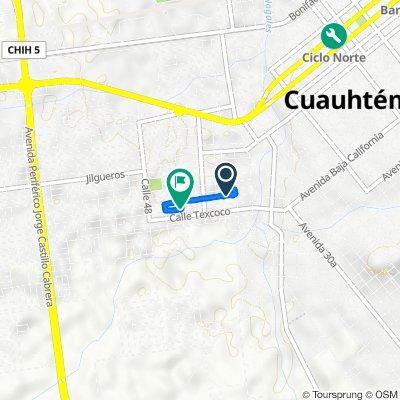 De Xochimilco 3485, Ciudad Cuauhtémoc a Chapultepec 4410, Ciudad Cuauhtémoc