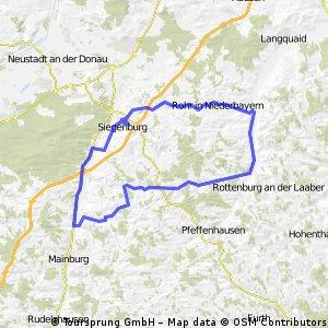 Lindkirchen - Siegenburg - Rohr - Rottenburg