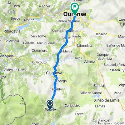 De Rúa do Pombal, 4, Bande a Rúa do Progreso, 56A, Ourense