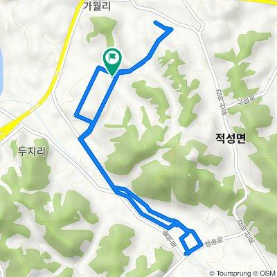 Jeokseong-myeon 1635, Paju-si to Jeokseong-myeon 1636, Paju-si