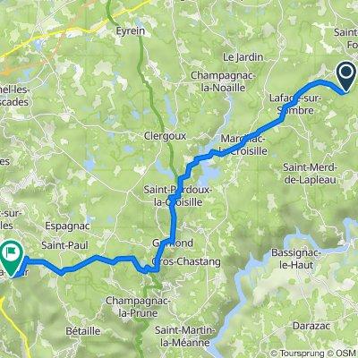 Itinéraire vers D10, Marc-la-Tour
